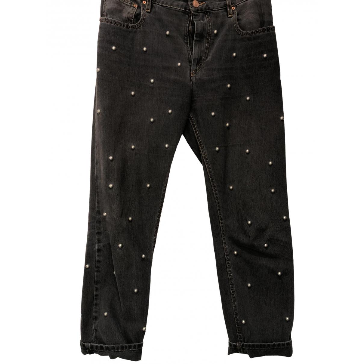 Isabel Marant Etoile \N Anthracite Denim - Jeans Jeans for Women 38 FR