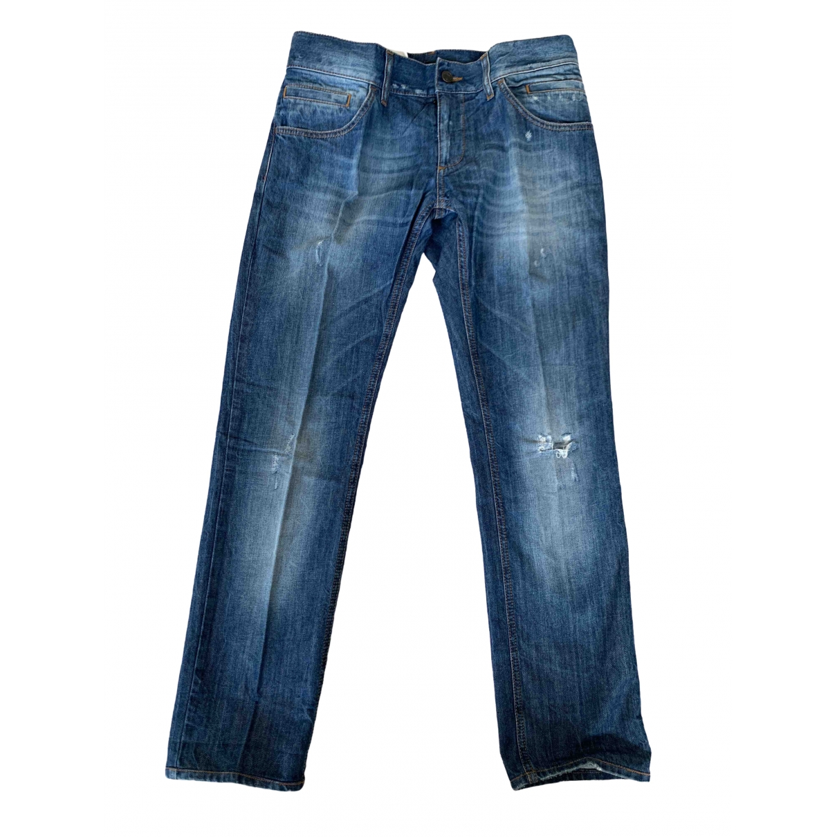 Dolce & Gabbana \N Blue Cotton Jeans for Men 30 US