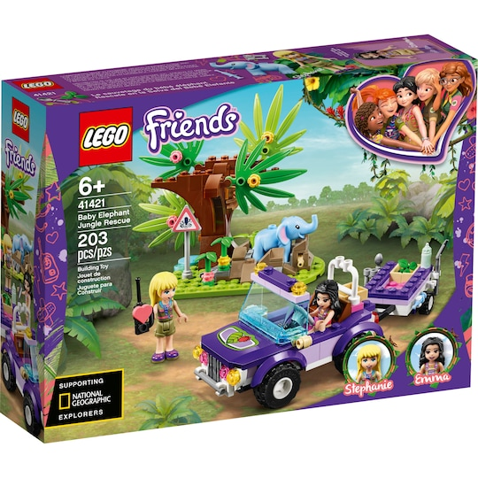 Lego® Friends™ Baby Elephant Jungle Rescue Set | Michaels®