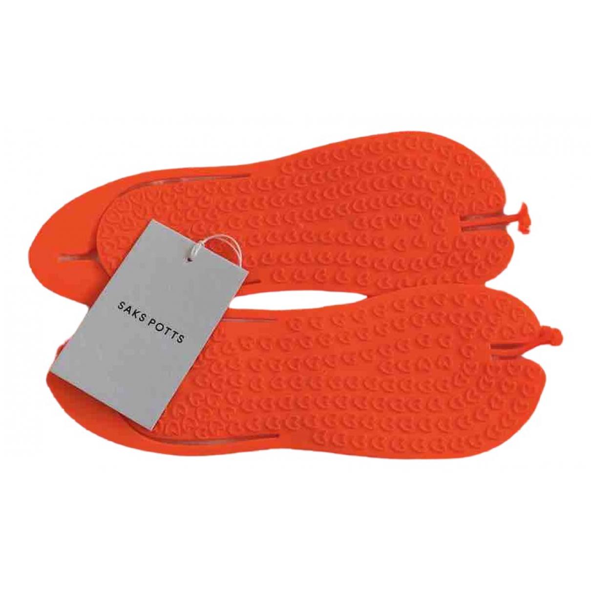 Saks Potts \N Orange Sandals for Women 38 EU