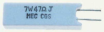 TE Connectivity 15kΩ Metal Oxide Resistor 7W ±5% SQMR715KJ (5)