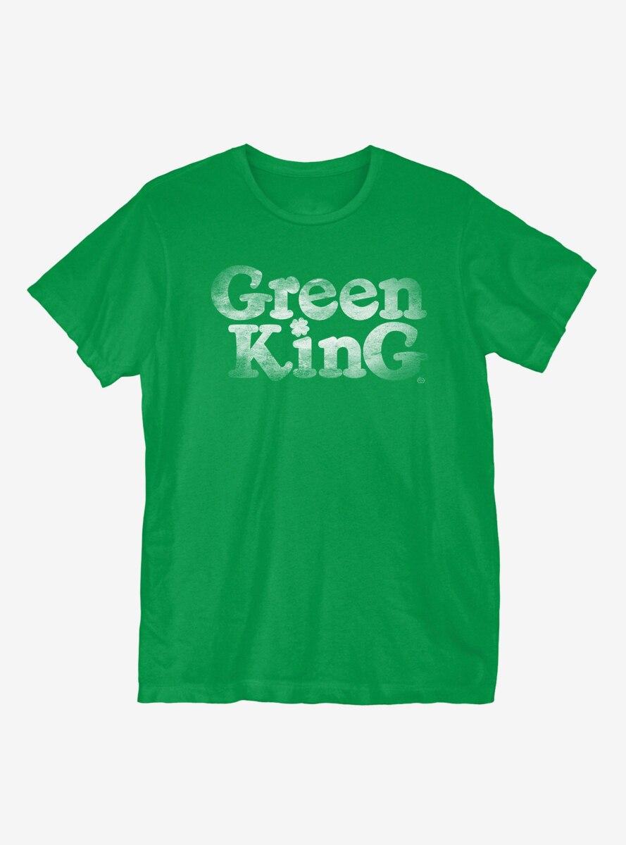 St. Patrick's Day Green King T-Shirt