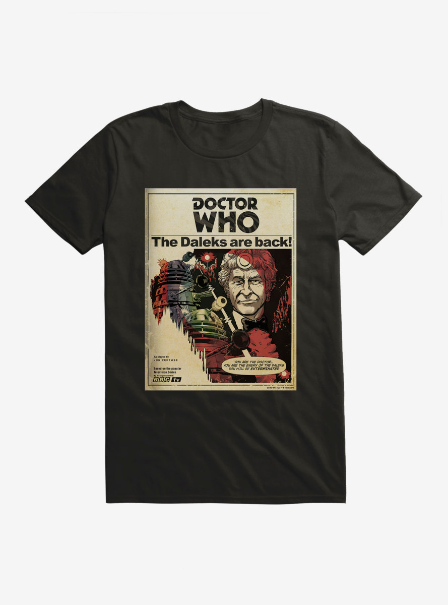 Doctor Who Annual Third Doctor T-Shirt