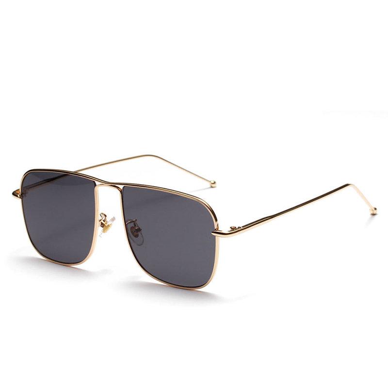 Womens Square Lens Vogue Anti-UV Polarized Sunglasses Outdoor Driving Retro Style Glasses