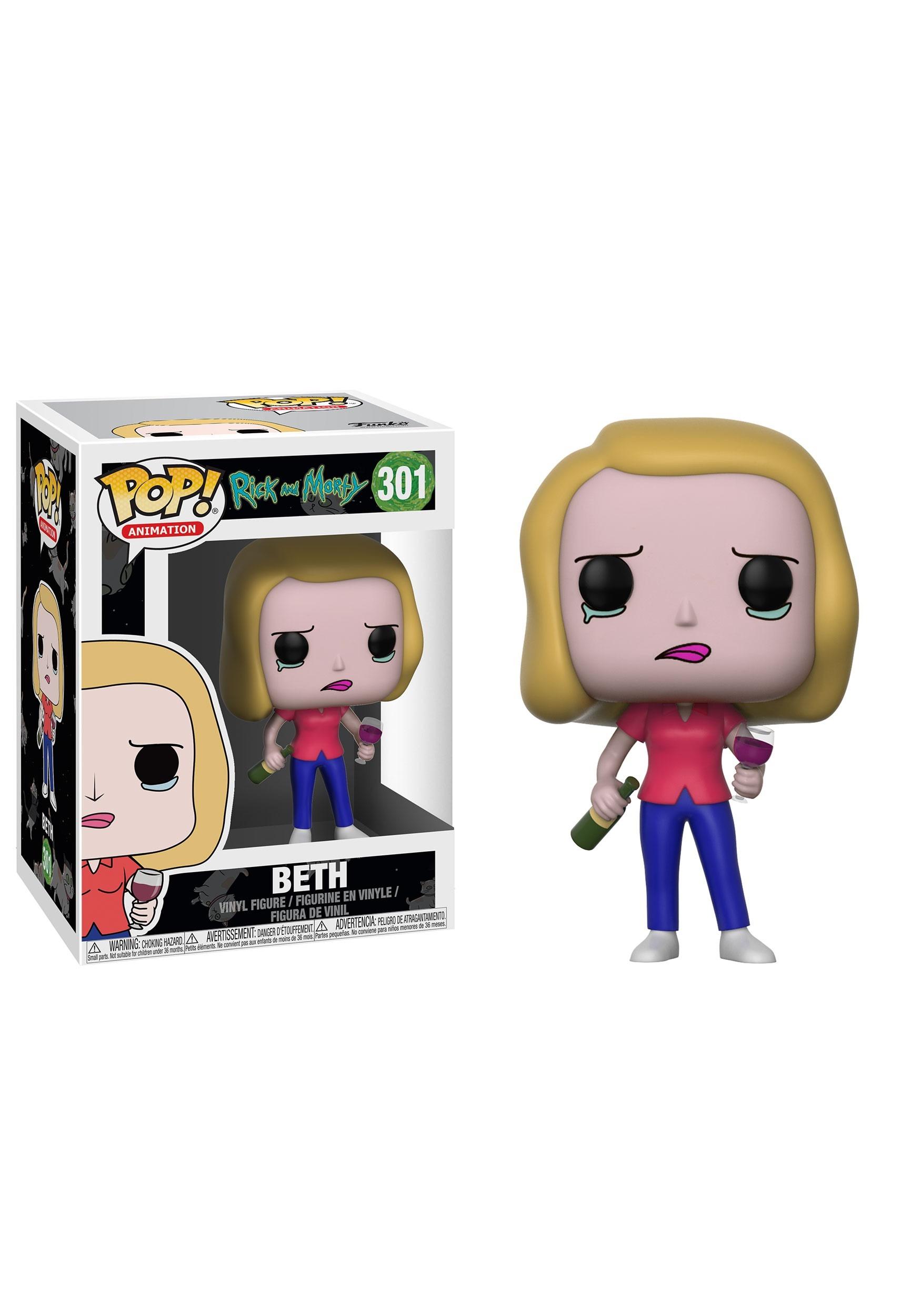 Rick and Morty Beth Figure - Pop! Vinyl Figures