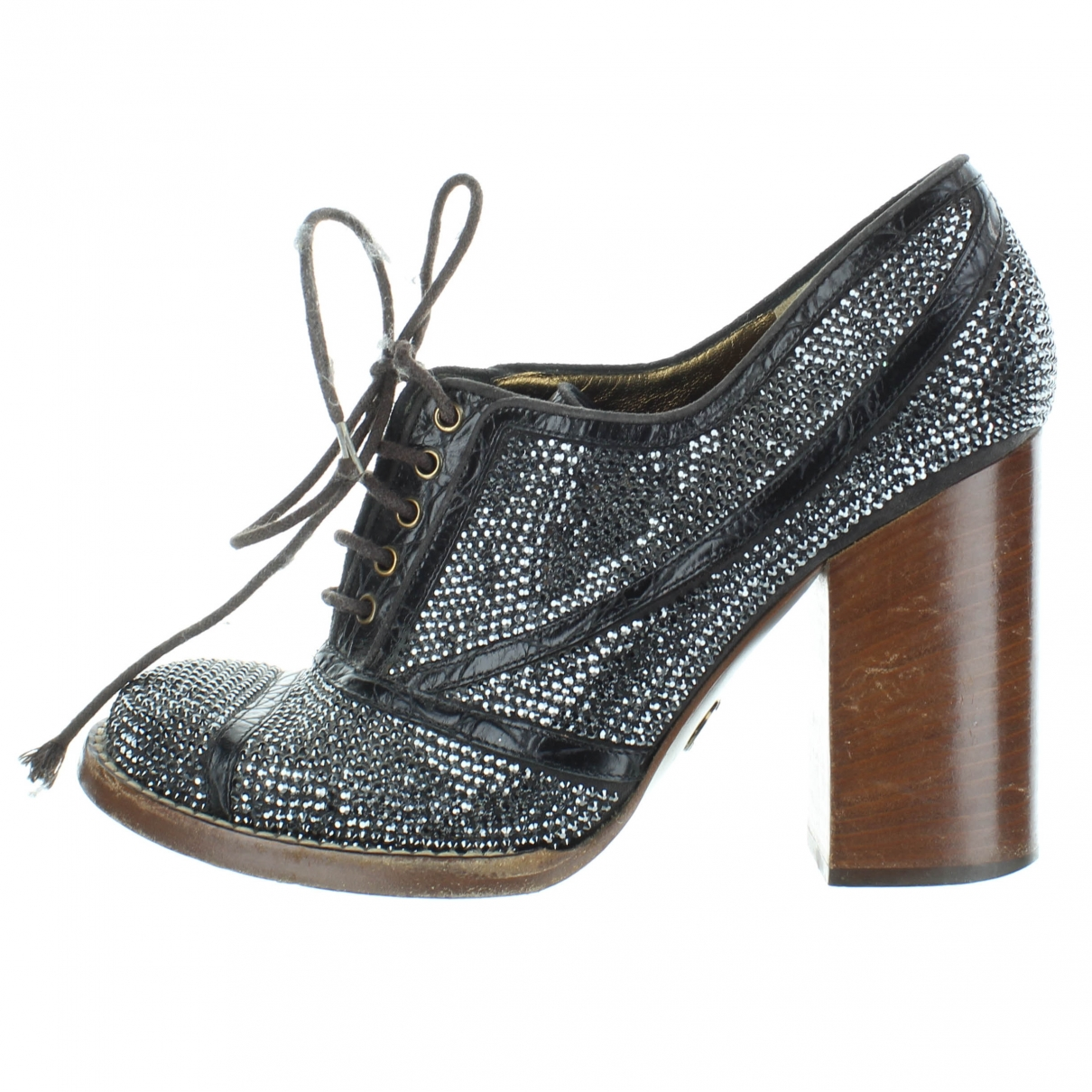 Dolce & Gabbana \N Grey Leather Ankle boots for Women 39 EU