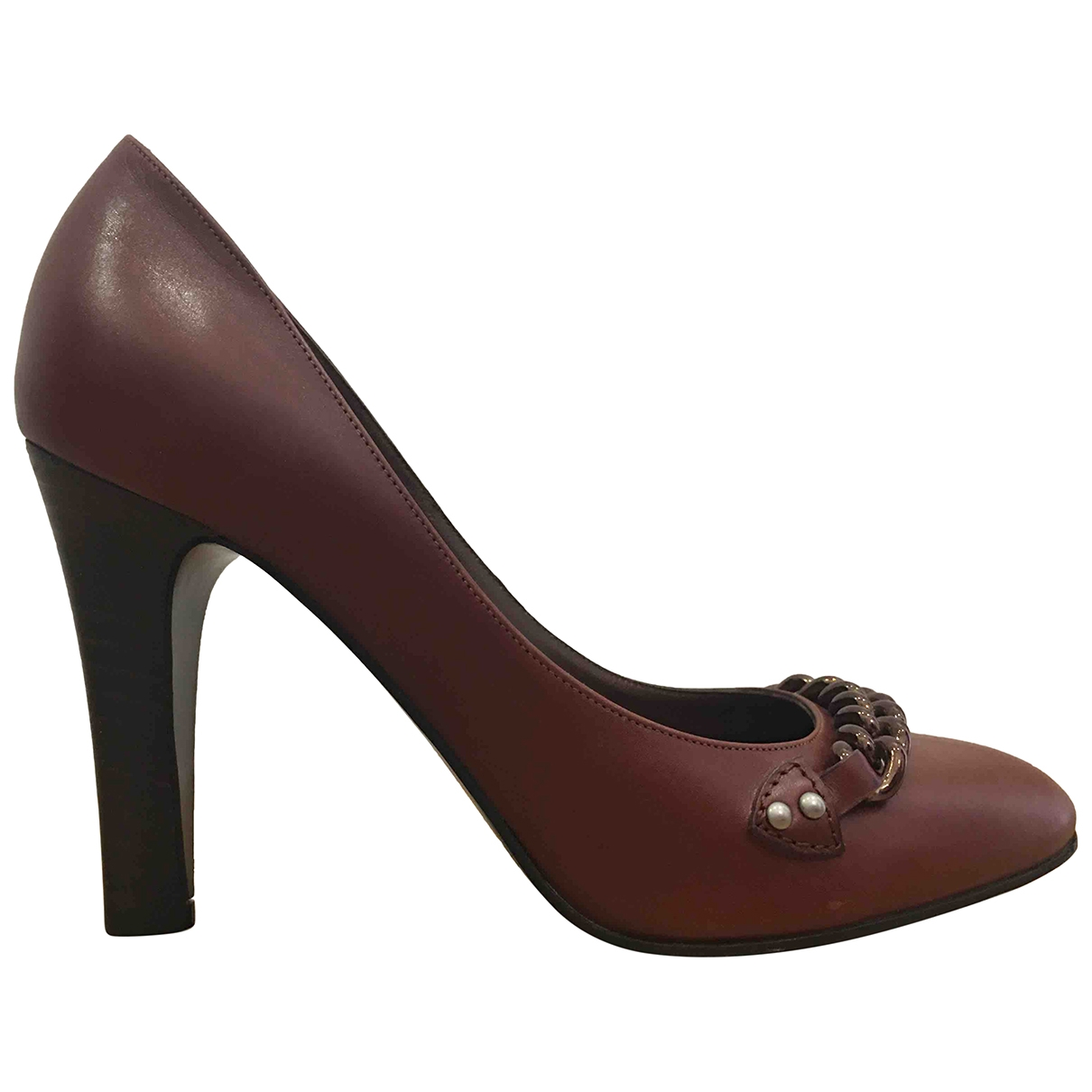 Marc Jacobs \N Brown Leather Heels for Women 37.5 EU