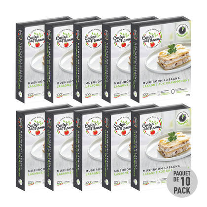 We Remain Open Mother's Kitchen Mushrooms Lasagna, 300g. 10/Pack