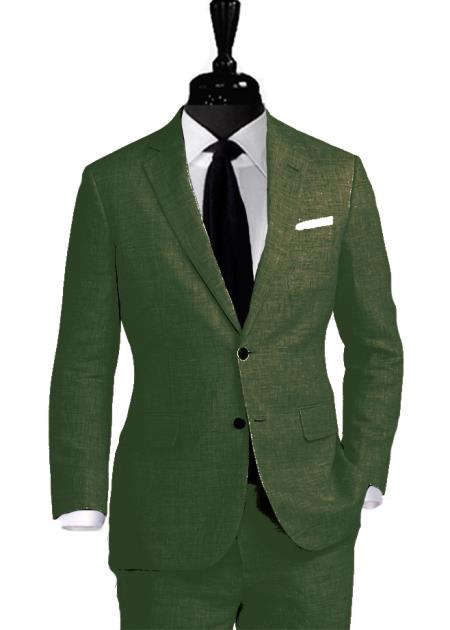 Alberto Nardoni Linen Coming September/1/2017 Suit