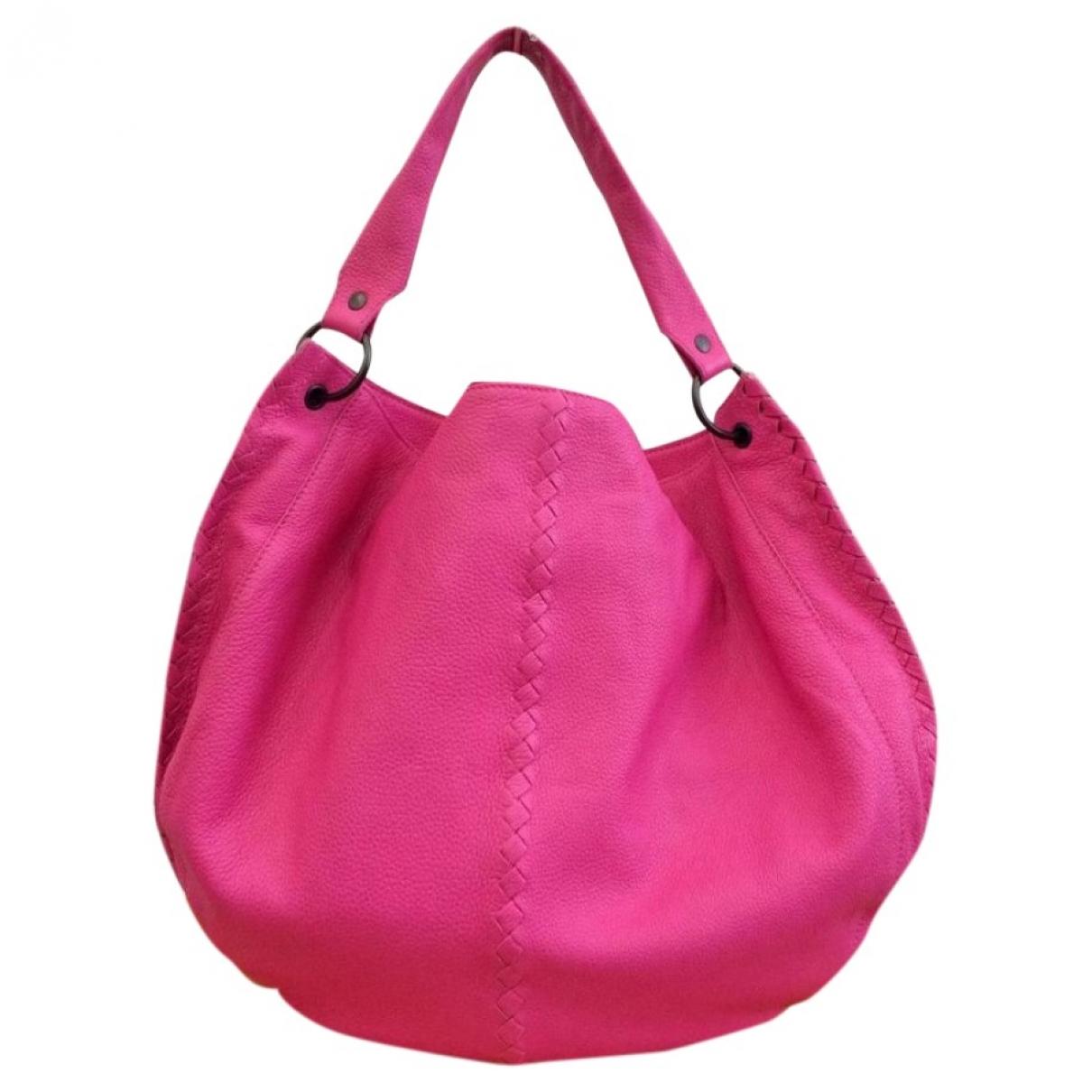 Bottega Veneta \N Pink Leather handbag for Women \N