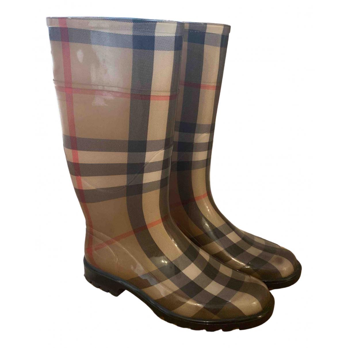 Burberry \N Beige Boots for Women 40 EU