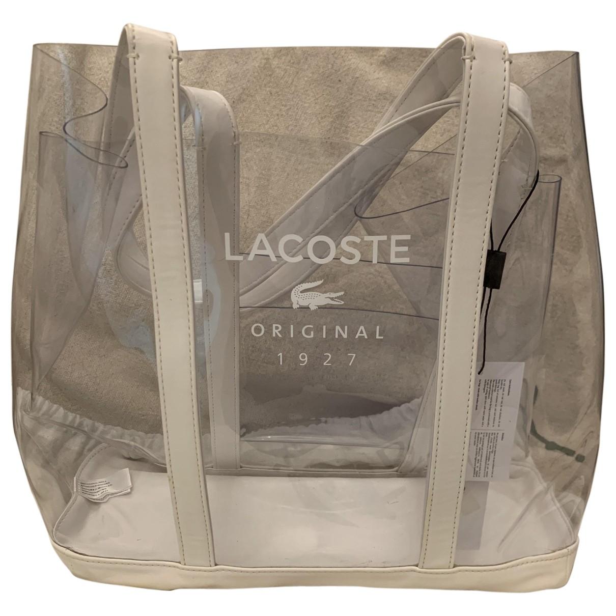 Lacoste \N White handbag for Women \N