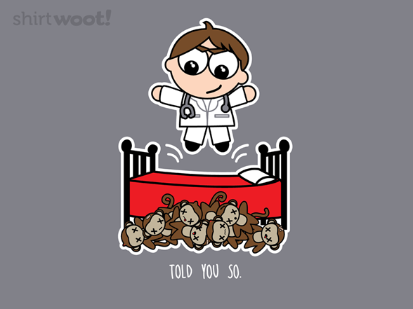 Little Monkeys Should Have Listened T Shirt