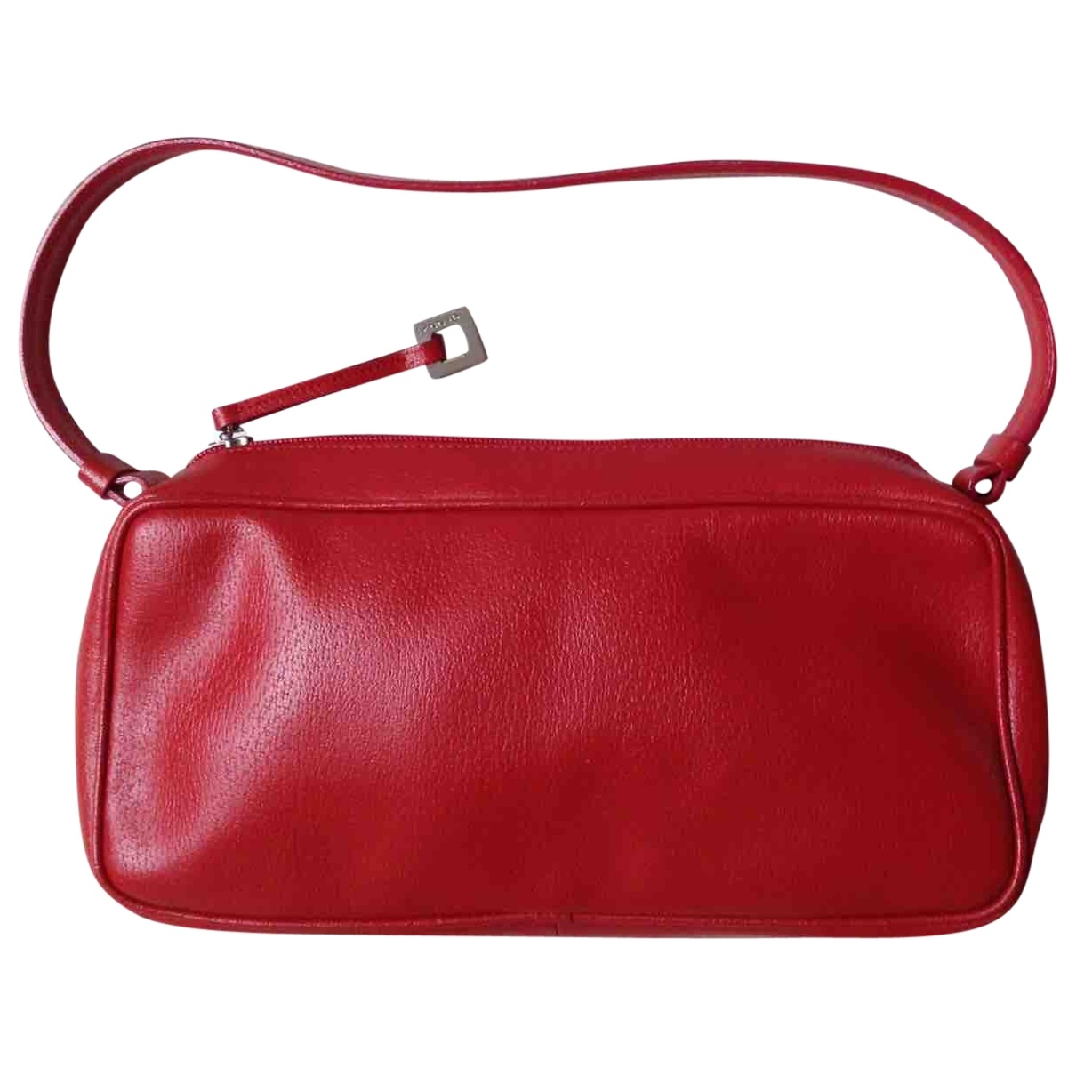 Genny \N Red Leather Clutch bag for Women \N