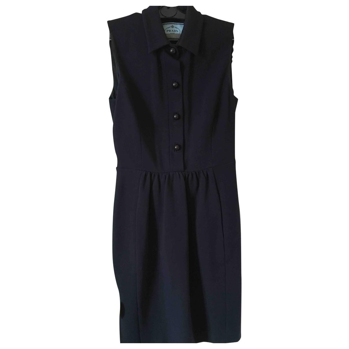 Prada \N Navy dress for Women 42 IT