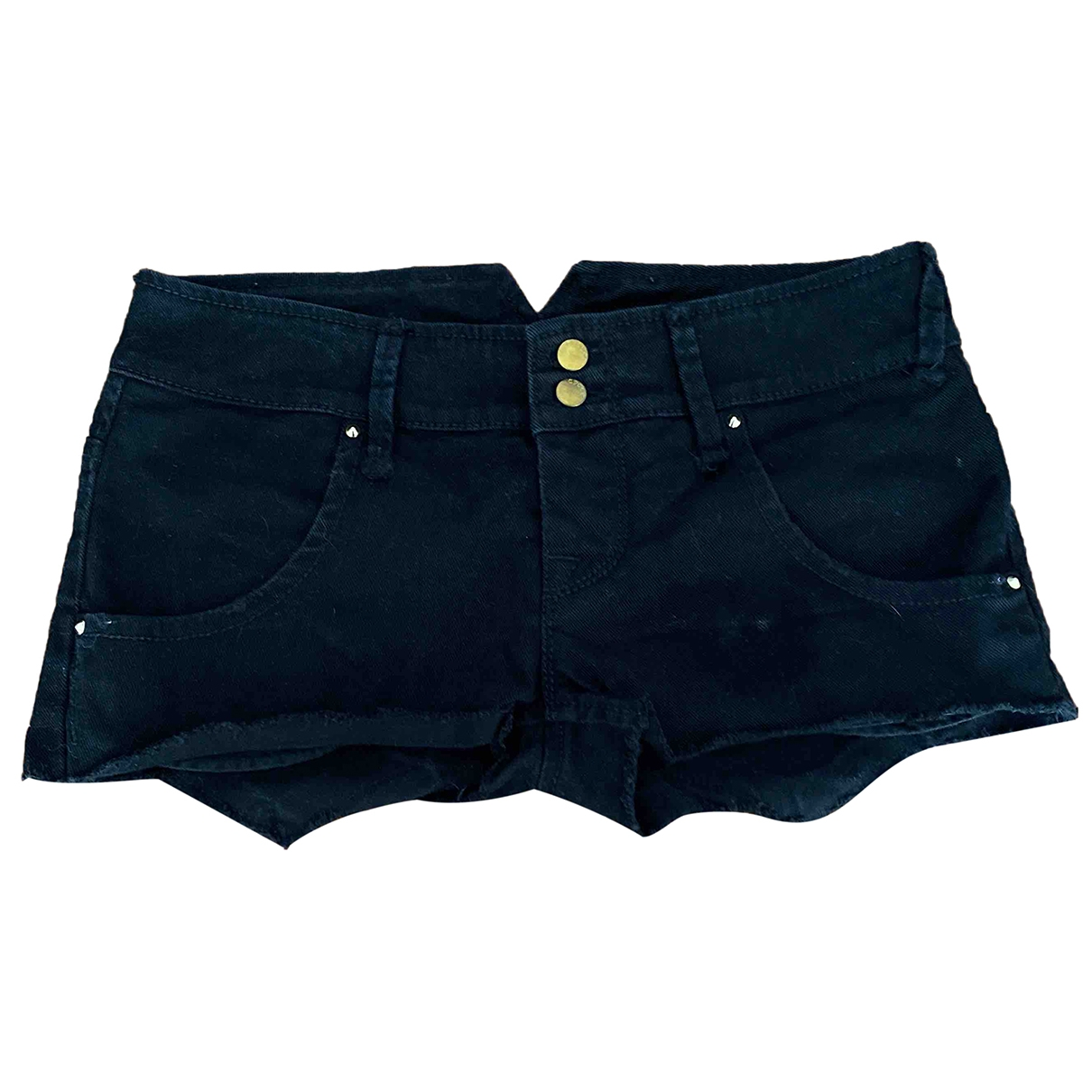 Cycle \N Black Denim - Jeans Shorts for Women XS International