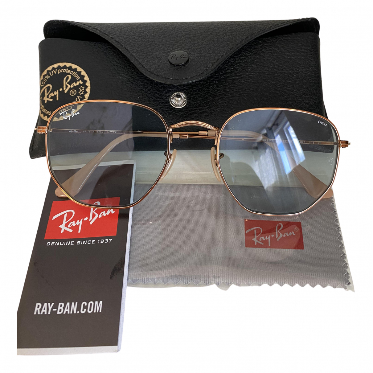 Ray-ban \N Blue Metal Sunglasses for Women \N