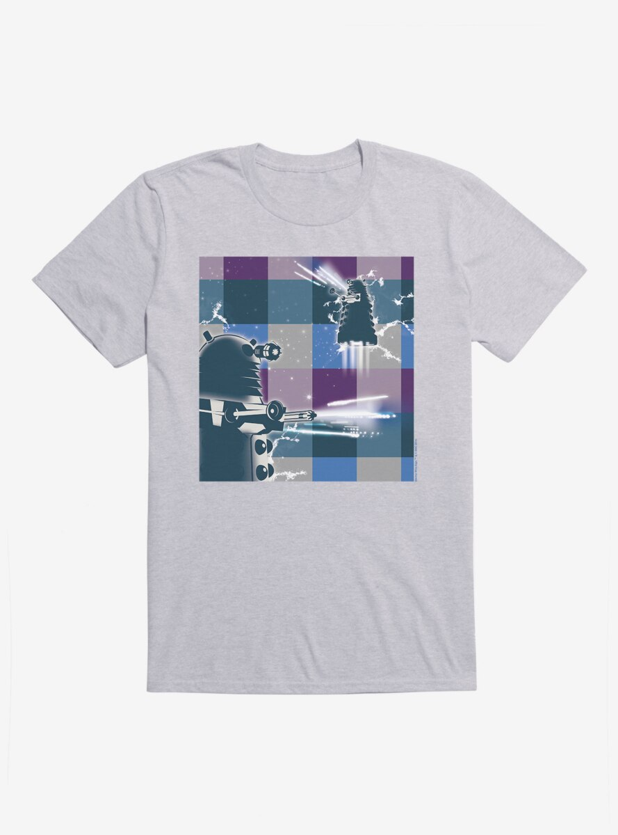 Doctor Who Daleks Space Collage T-Shirt