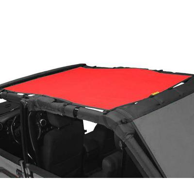 DirtyDog 4x4 Safari Sun Screen, Red - D/DJ4SS07S1RD