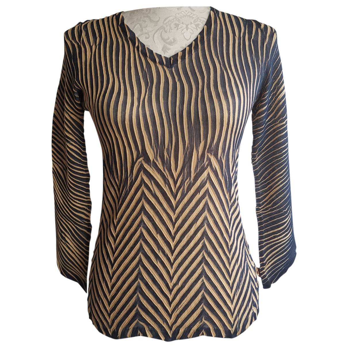 Just Cavalli \N Blue  top for Women 44 IT
