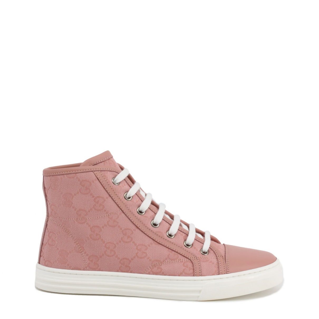 Gucci \N Pink Cloth Trainers for Women 38 EU