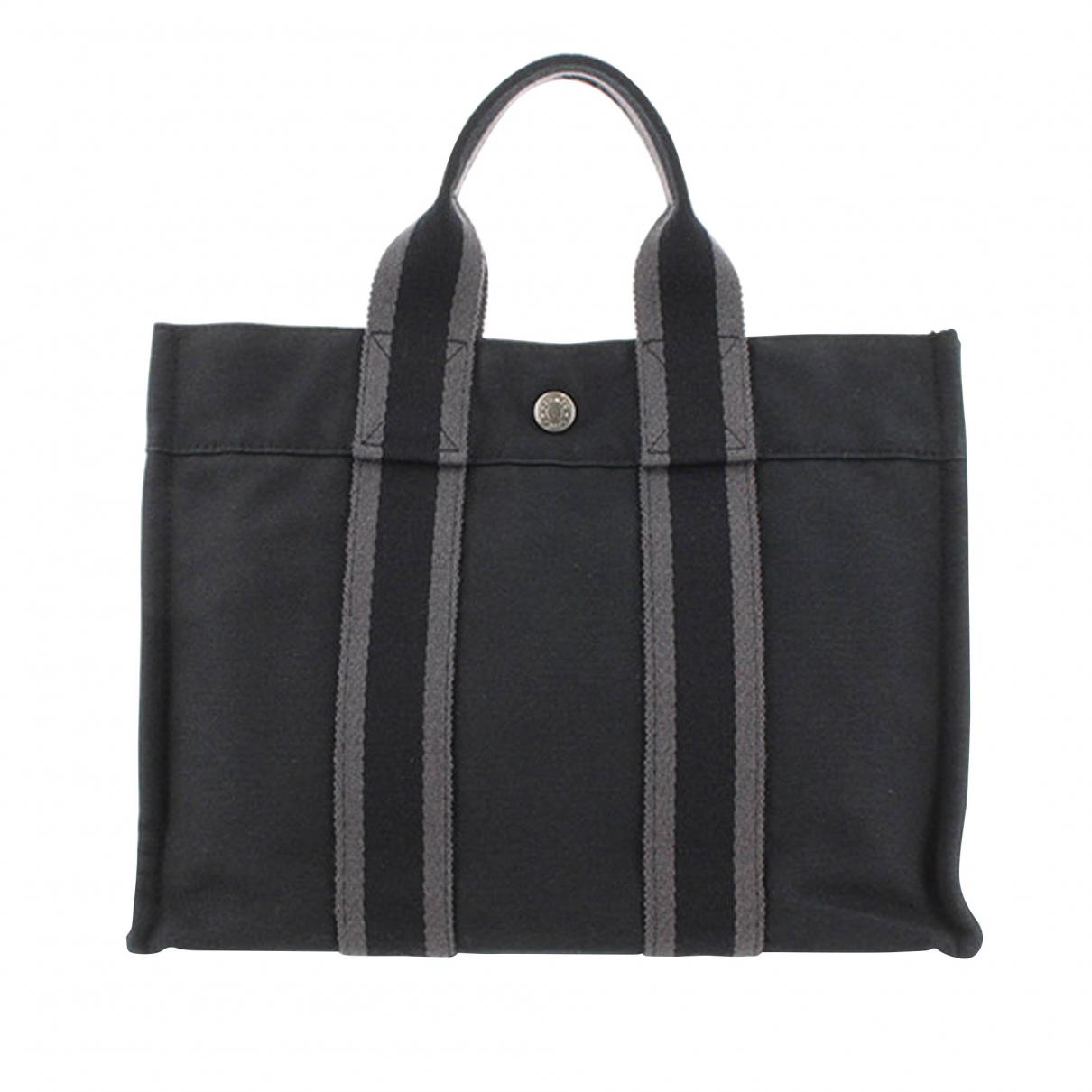 Hermès N Black Cloth handbag for Women N
