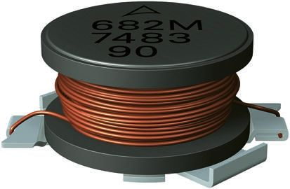 EPCOS , B82462-A4 Wire-wound SMD Inductor with a Ferrite Core, 1 mH ±10% Wire-Wound 330mA Idc