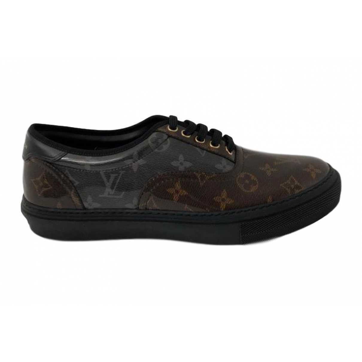 Louis Vuitton Trocadero Brown Cloth Trainers for Men 11 US