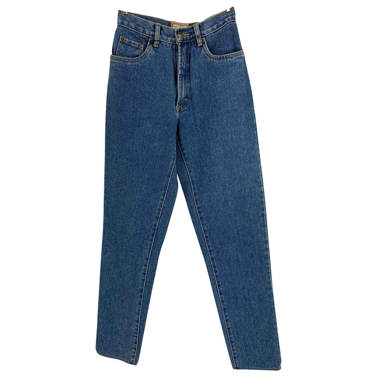 Burberry \N Blue Denim - Jeans Jeans for Women 8 UK