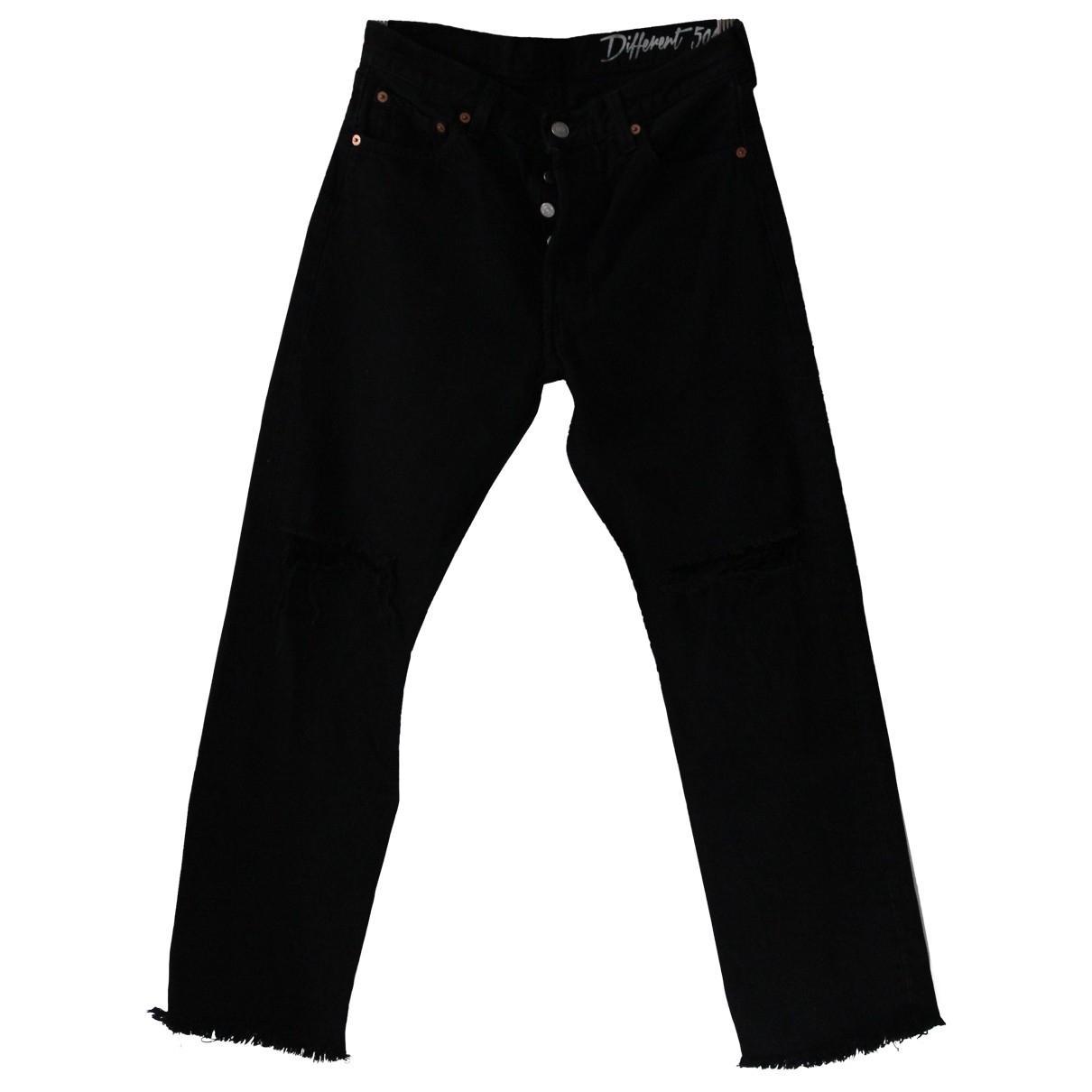 Levi's \N Black Cotton Jeans for Women 29 US