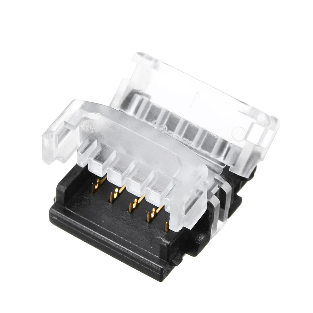 10PCS 5Pin 12MM Board to Board Tape Connector Terminal for No-waterproof RGB LED Strip Light