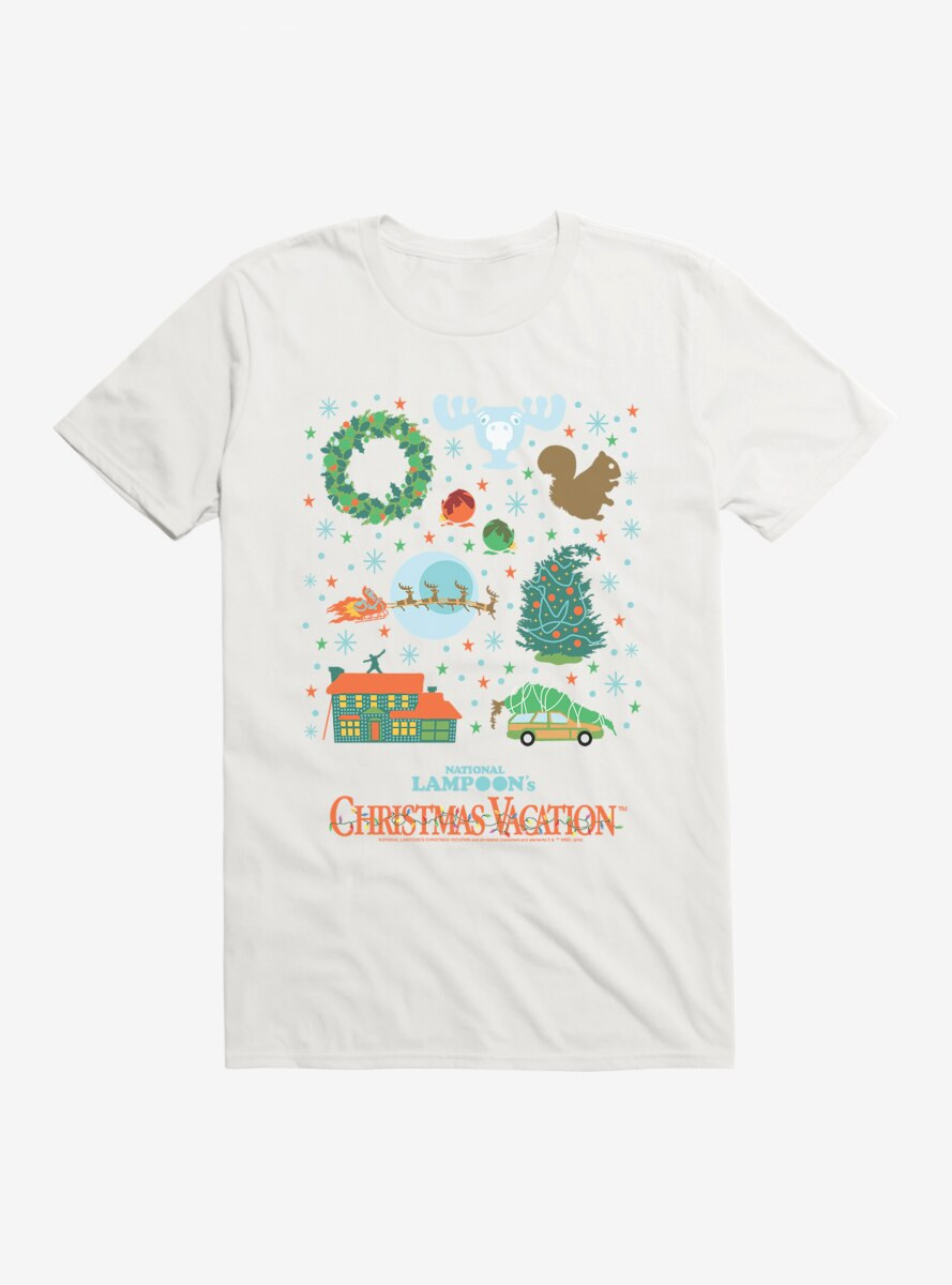 National Lampoon's Christmas Vacation Icons T-Shirt