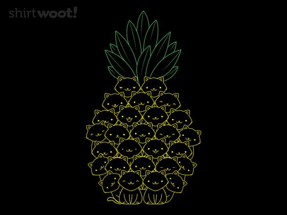 Pineaple Cat T Shirt