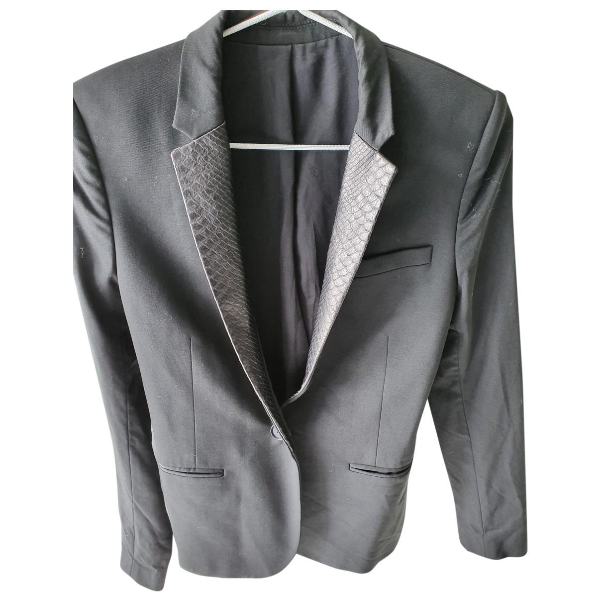Zadig & Voltaire \N Black jacket for Women 34 FR