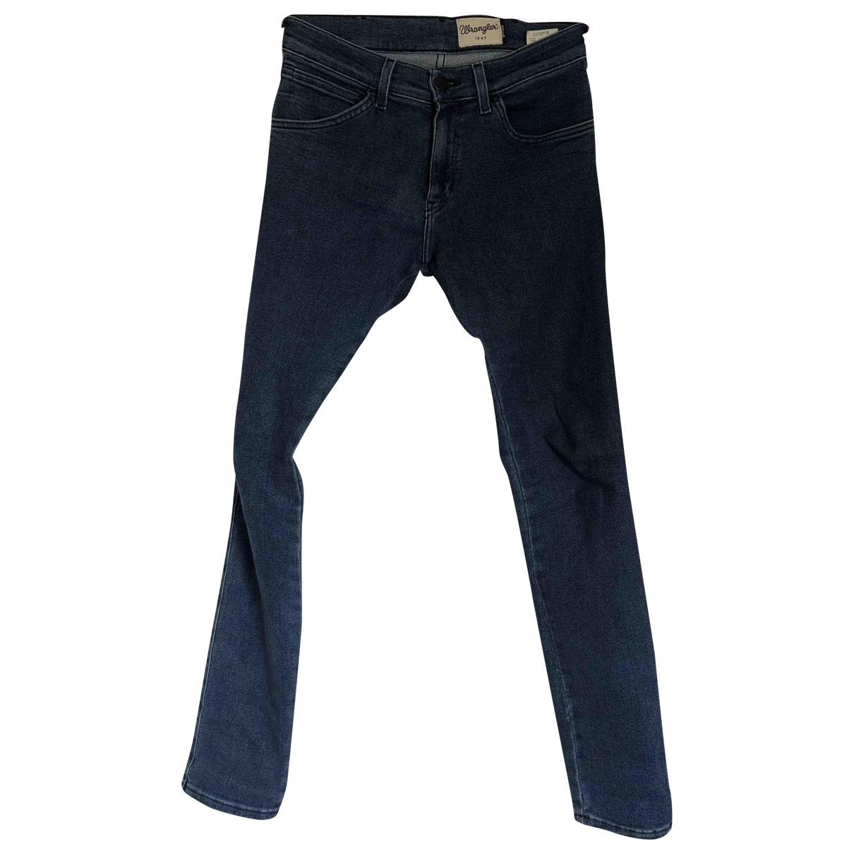 Wrangler \N Blue Cotton Jeans for Women 29 US