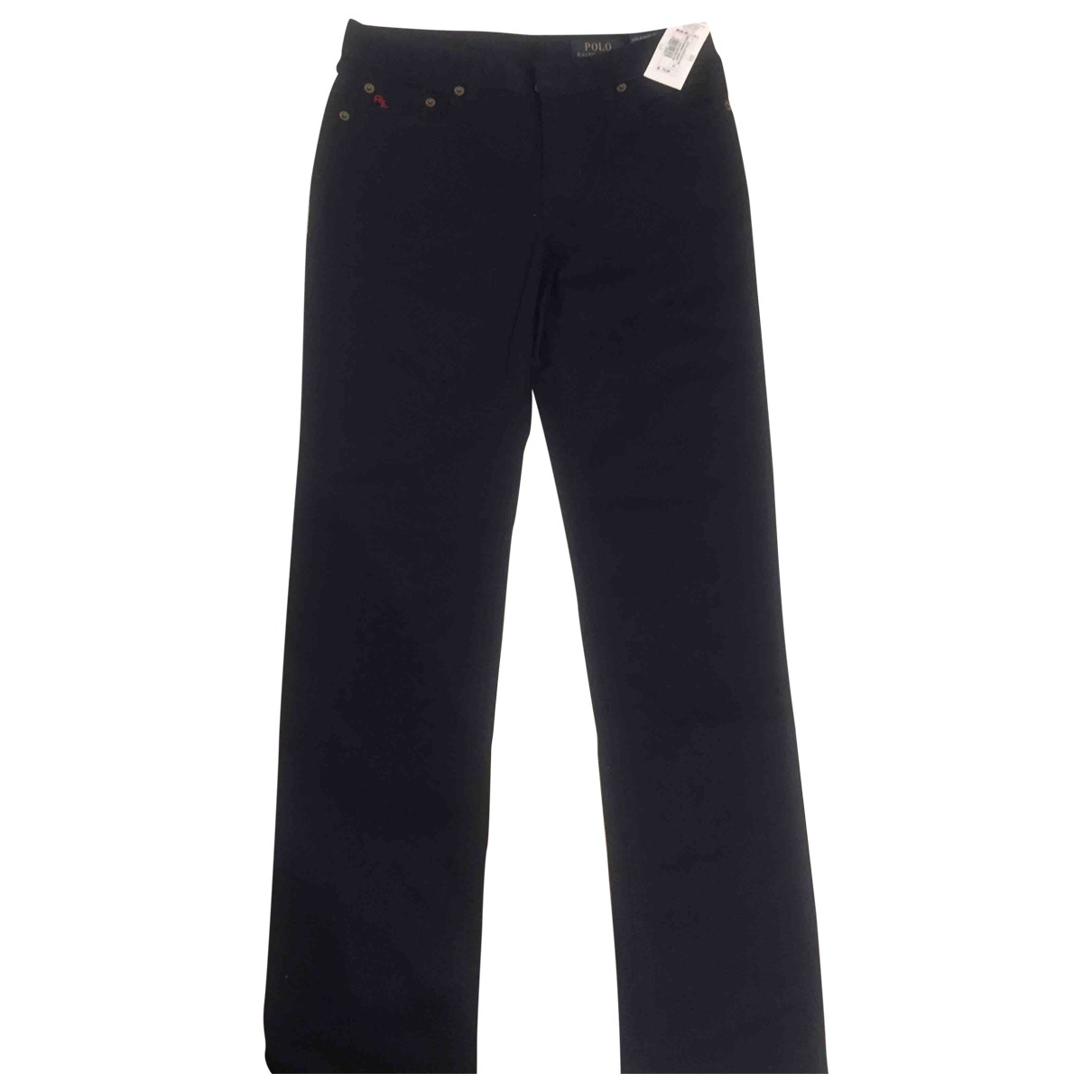 Polo Ralph Lauren \N Blue Cotton Trousers for Kids 14 years - S FR