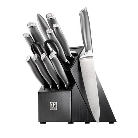 Henckels International Modernist 13-pc. Knife Block Set, One Size , Silver