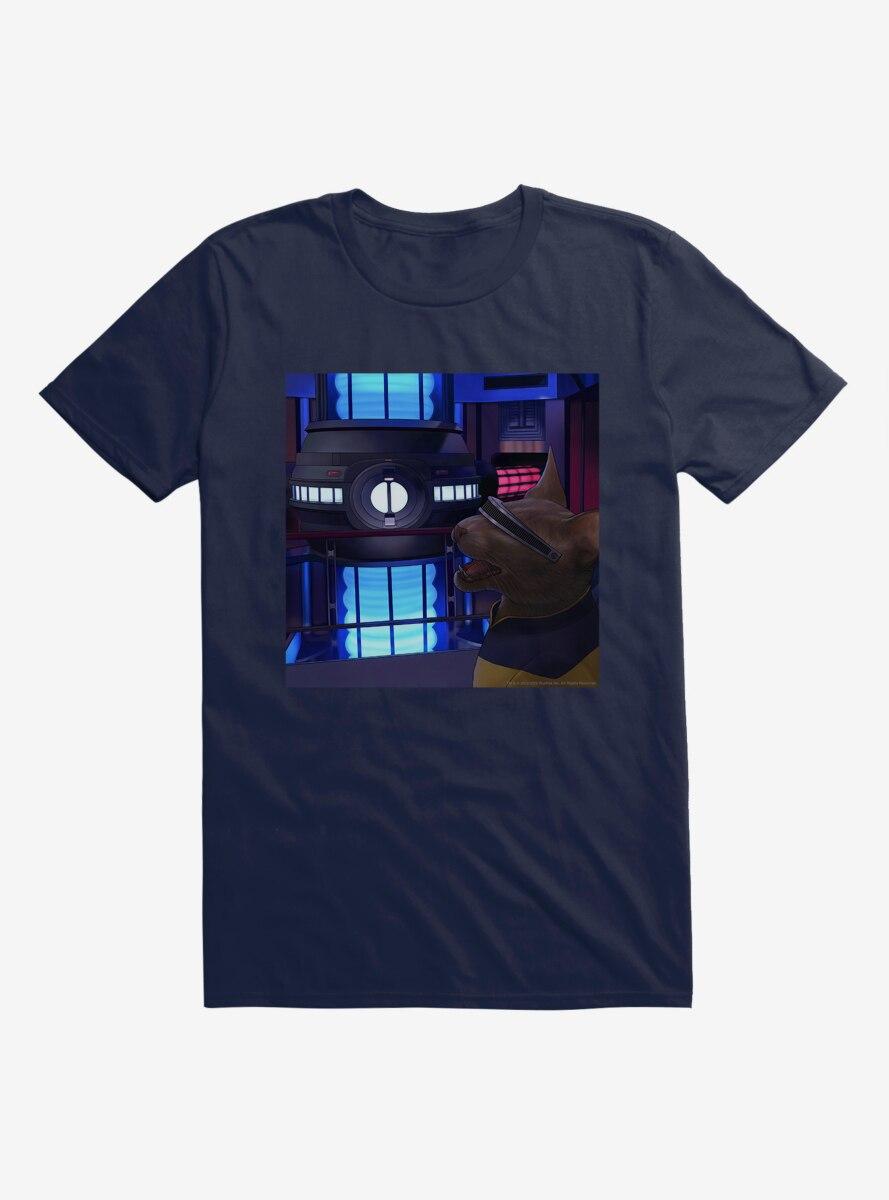 Star Trek The Next Generation Cats La Forge T-Shirt