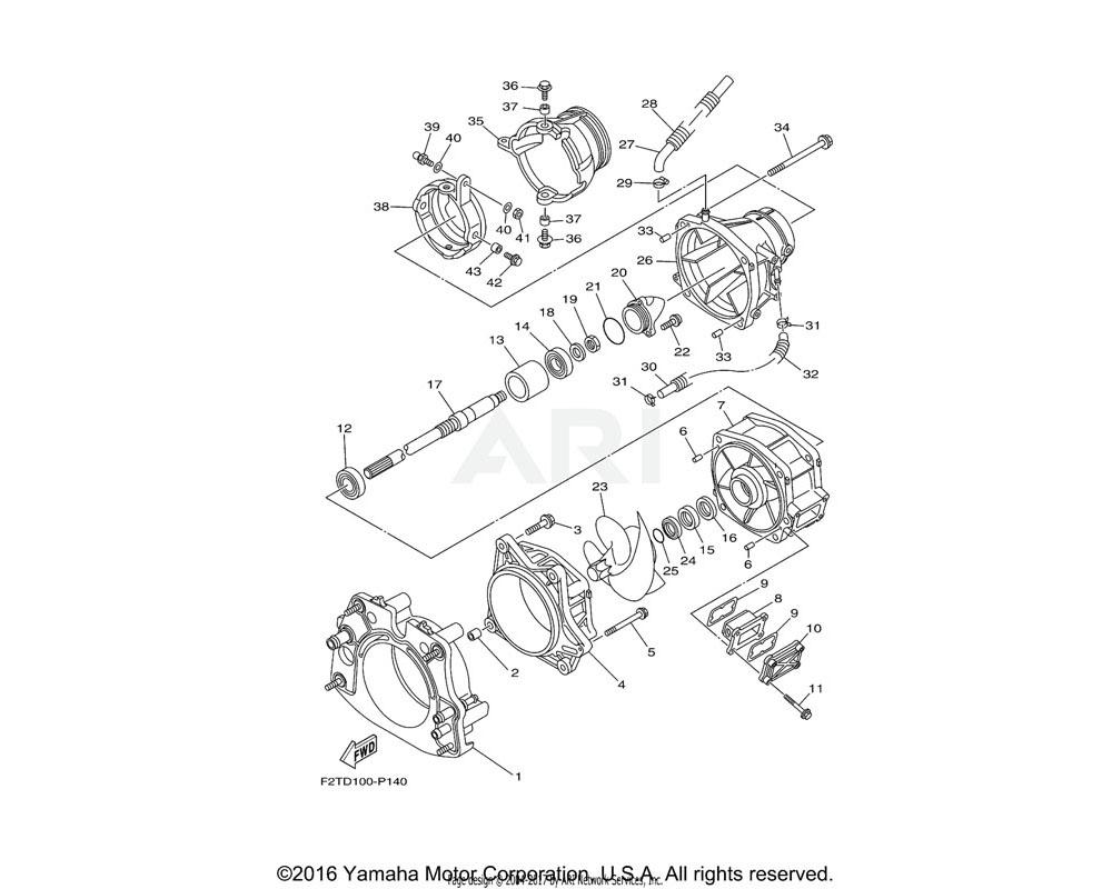 Yamaha OEM 6CN-U773D-01-00 TUBE