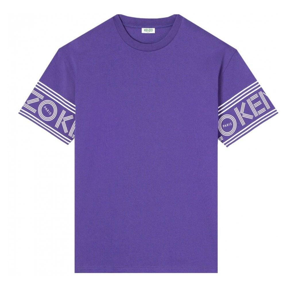 Kenzo Sleeve Logo T-shirt Colour: PURPLE, Size: EXTRA LARGE