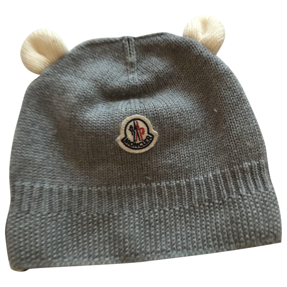 Moncler \N Grey Cotton hat & Gloves for Kids \N
