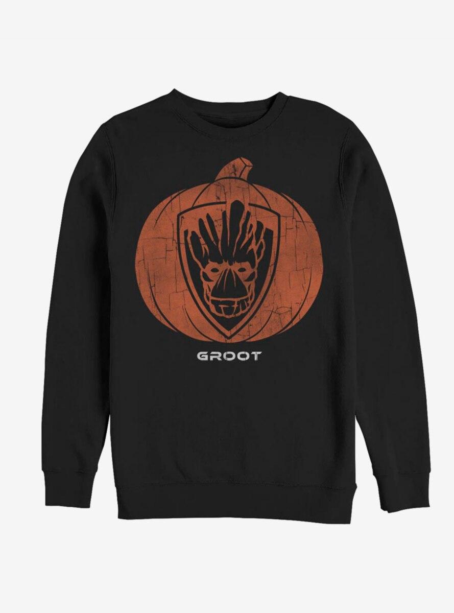 Marvel Guardians Of The Galaxy Groot Pumpkin Sweatshirt