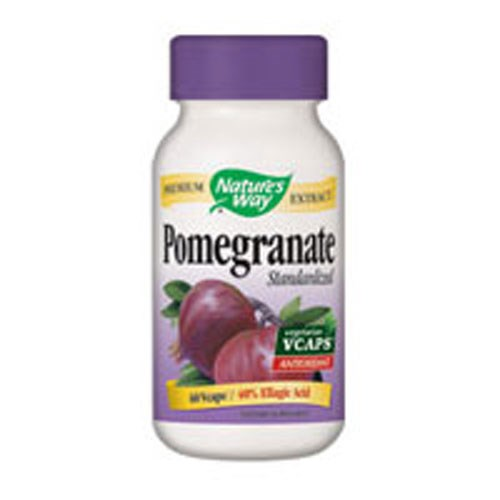 Pomegranate Standardized Extract 60 Vegicaps by Nature's Way