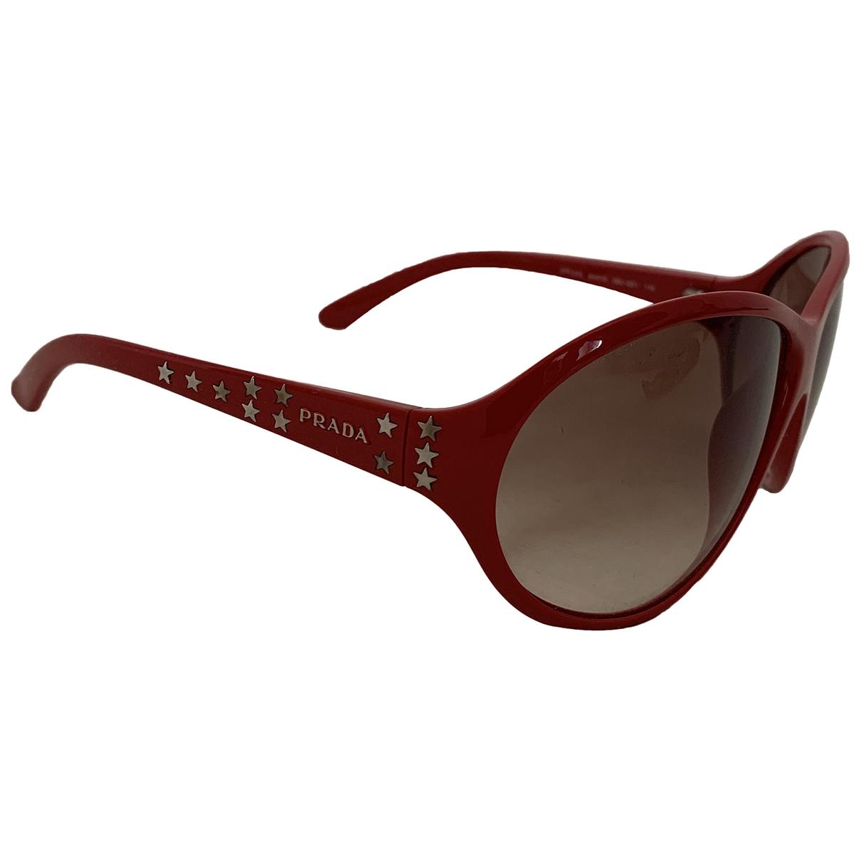 Prada \N Red Sunglasses for Women \N