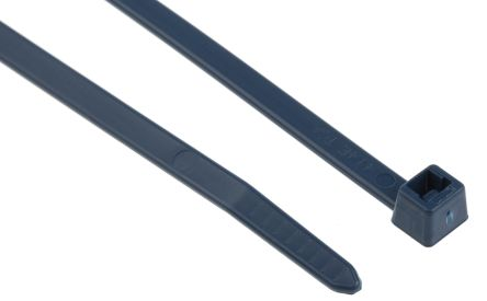 HellermannTyton , MCT Series Blue Metal Detectable Cable Tie, 200mm x 4.6 mm