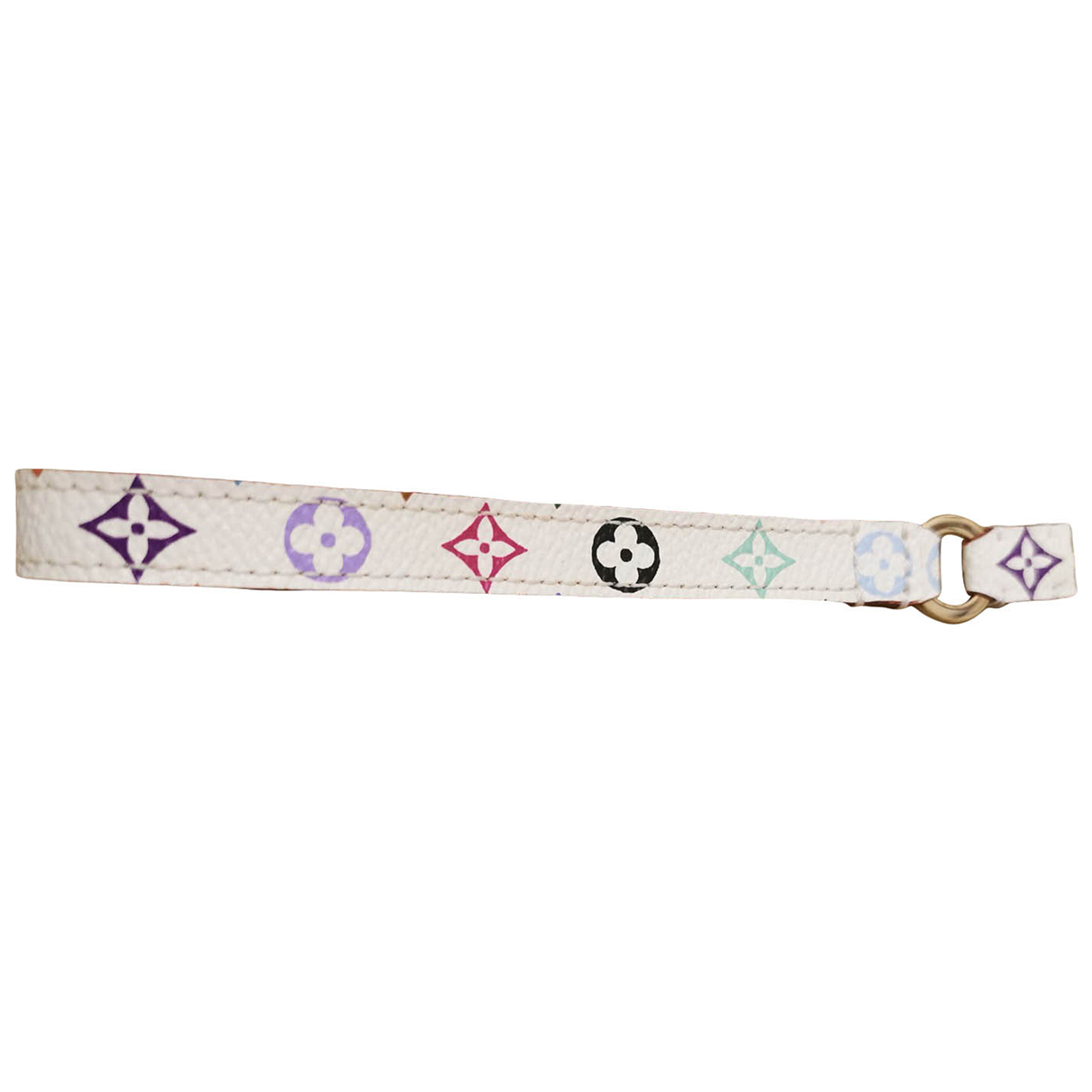 Louis Vuitton \N White Leather Phone charms for Women \N