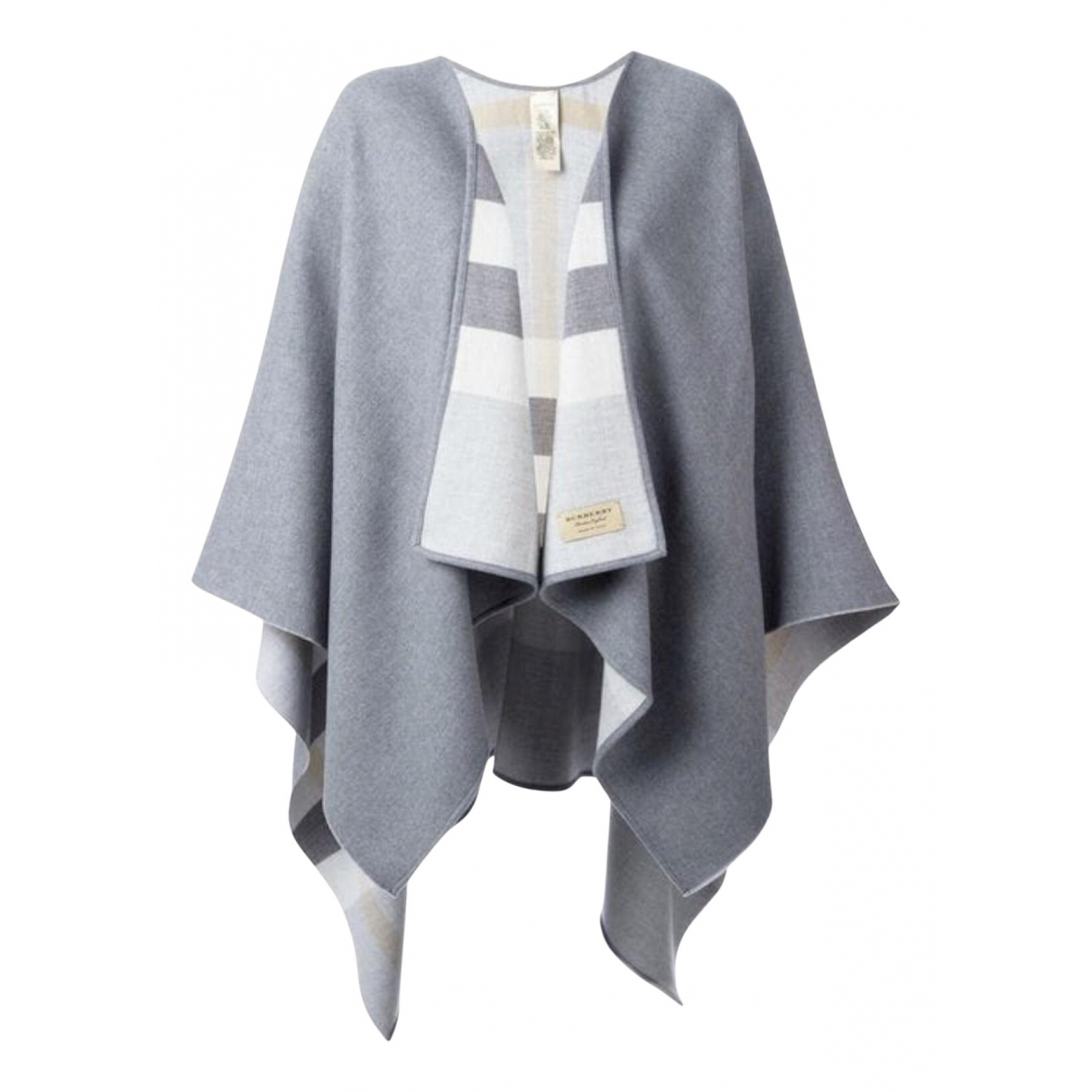 Burberry \N Grey Wool jacket for Women One Size FR
