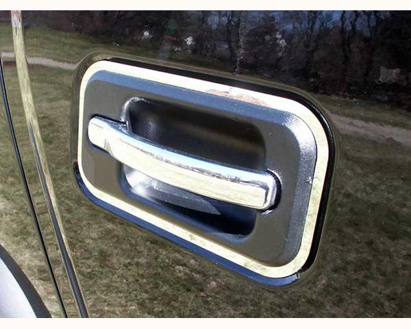 Quality Automotive Accessories 4-Piece Door Handle Overlay Hummer H2 2005