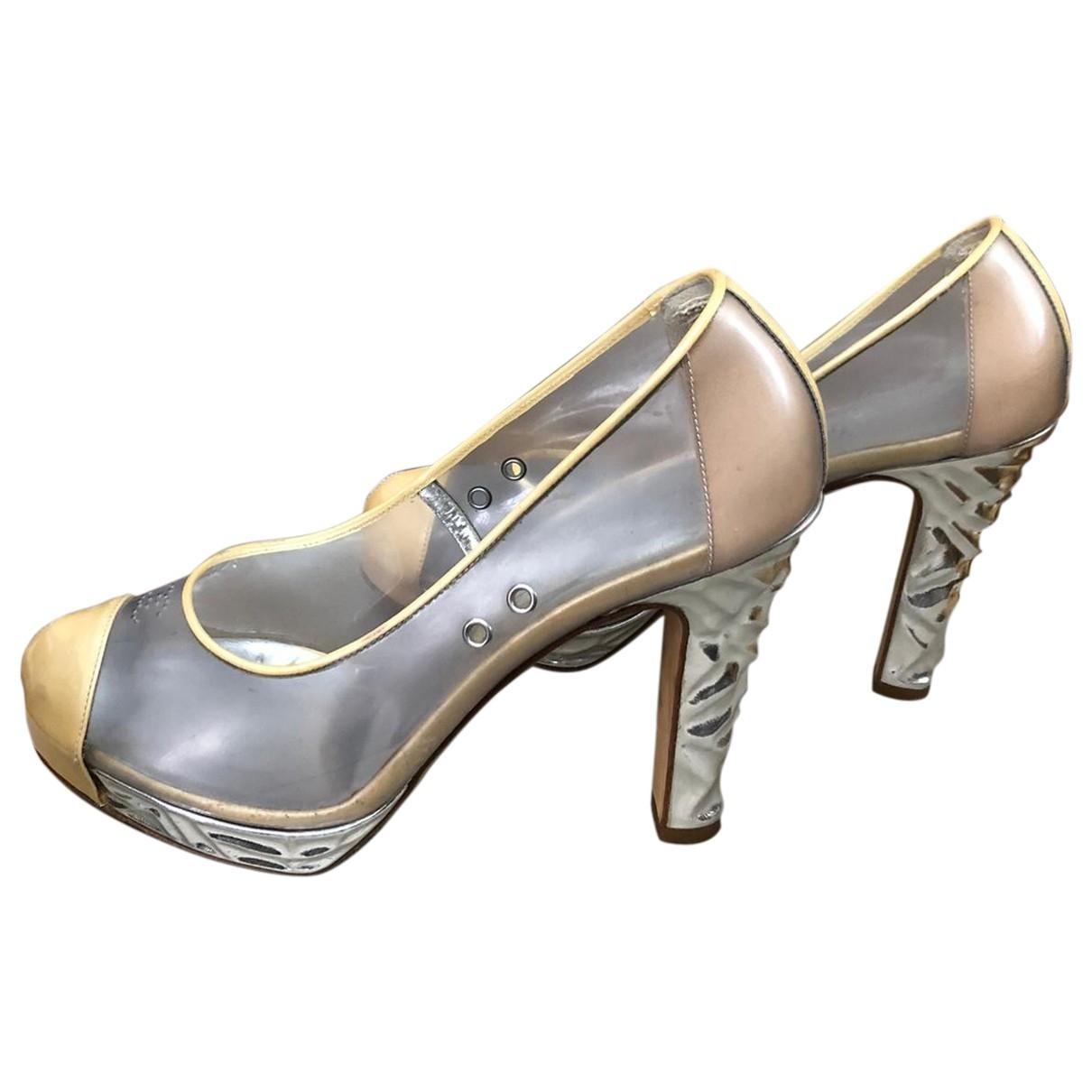 Chanel \N Beige Heels for Women 37 EU