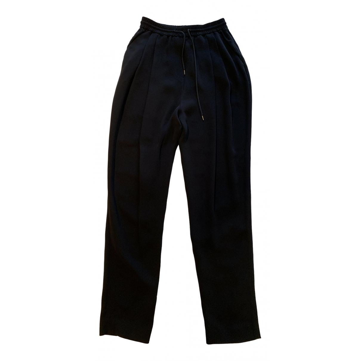 Mcq \N Black Trousers for Women 38 IT